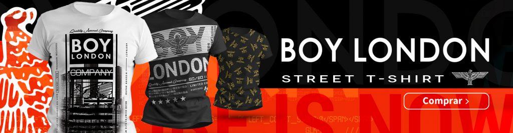banner boy london street t-shirt